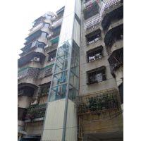旧楼加装电梯井道 钢结构电梯井道