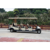 供应卓越牌A1S6+2 8人座电动高尔夫球车