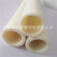 山实厂家供应白色TPV编织胶管 缠绕胶管 耐高压软管 颜色可定制