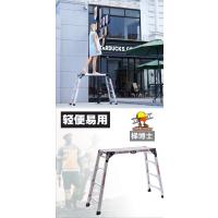 广州腾达建筑设备2018火爆产品梯博士DR.LADDER家用便捷式铝合金折叠功夫凳