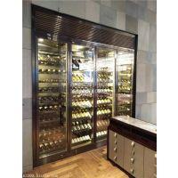 厂家定制不锈钢展示架 恒温酒柜 免费设计