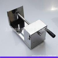 工厂直销手摇旋风土豆机 自动拉伸黄金薯塔机 手动螺旋土豆切片机