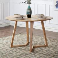 倍斯特热销北欧圆形会客厅洽谈餐桌椅组合实木休闲咖啡厅餐厅创意餐桌厂家定制