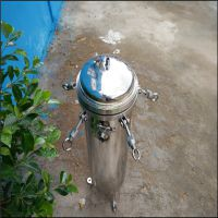 供应重庆化工液体过滤专用30吨流量不锈钢袋式过滤器清又清厂家