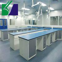 钢木实验台水槽台实验室专用中央台耐腐蚀试验操作边台桌