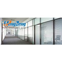 定制办公家具铝合金双玻璃隔断G339