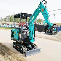 金鼎立国产微型挖掘机型号价格 适合北京市区暖气管道挖沟用的小挖沟机