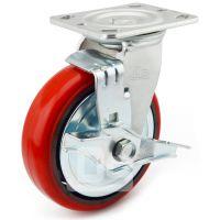 大世脚轮 高耐久承重工具推车轮 高强度铸铁万向轮