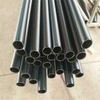 现货供应HDPE顶管 PE过道顶管 黑色PE管材