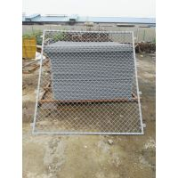 浸塑框架护栏网 钢丝网围栏 绿色小区护栏网