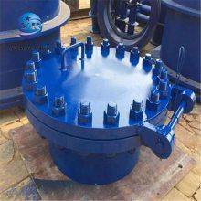 济南碳钢人孔 DN500回旋盖人孔 HG/T21516-2005标准下载 人孔图集