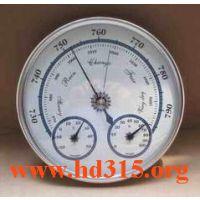 中西特价室内温湿度气压计三合一气象站/晴雨表库号:M164899