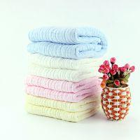 6层水洗纯棉纯色浴巾
