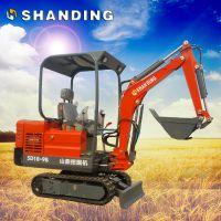 【矿井用的小型挖掘机】山鼎多功能小型挖掘机