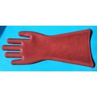 天天平安12KV绝缘手套 防电带电作业劳保橡胶手套 耐高压电工专用
