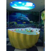 重庆婴儿游泳馆加盟金妙奇游泳设备亚克力材质质量好价格优