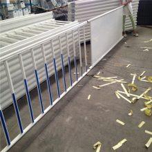 大学校园围墙栏杆 学校锌钢围栏施工方案 新型热镀锌钢制围栏