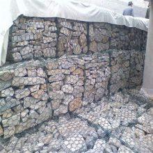 石笼网网箱 加固河堤六角网 铅丝石笼