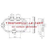 全套供应V型滚轮圆弧导轨自动化生产线专用直线 曲线 环线导轨