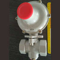 吴旗县润丰小螺纹调压器20方专用燃气减压阀小锅炉适用