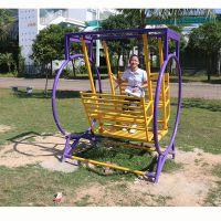 江海区健身器材厂家批发 儿童休闲荡椅路径 户外健身器材用品