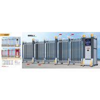 理念系列铝合金电动伸缩门,压铸铝组件经久耐用