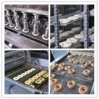 全自动成型发酵油炸甜甜圈生产线 煜丰机械