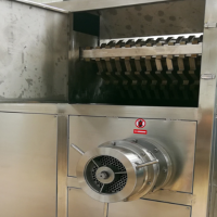 食品破碎绞肉机 冲击式双辊冻盘绞肉机厂家直销 佳品食品机械