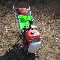 促销多功能自走式播种施肥器耘播机小型手扶链轨式趟地机