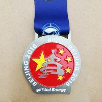 新款金属奖牌定做 锌合金创意烤漆运动奖牌 外贸奖牌定制