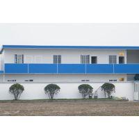河北廊坊祈虹彩钢板房组装搭建车间仓库平顶活动房