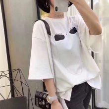 全棉女装t恤湖南郴州直批地滩货源韩版t恤批发 江苏常州从哪批发低价白色女装t恤