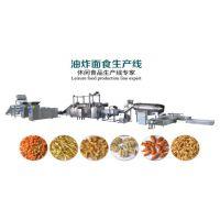 油炸小零食生产设备,干脆面咪咪虾条蟹味粒油炸小吃生产线美腾机械