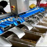 凯旭机械全自动鱿鱼重量分级机器 鱿鱼分拣机