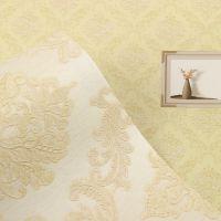 厂家供应2018新款欧式奢华无纺布客厅卧室背景墙壁纸 环保墙纸贴