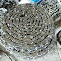 不锈钢链条 传动链条 双节距 2寸滚子链定制 工业链条