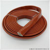 SOLYONE 玻纤硅胶耐高温隔热防火阻燃护套管高温区域专用