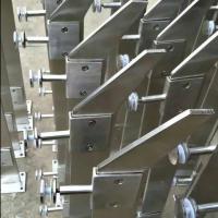 金裕 德润广场不锈钢316/304室内室外栏杆 大型购物广场不锈钢玻璃楼梯扶手