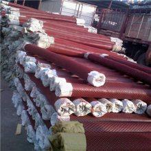 厂家推荐菱形金属网 粮仓钢板网 红色玉米网 防潮透气通风