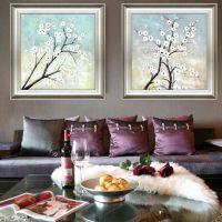 批发 美式高档装饰画客厅餐厅玄关壁画工程挂画家居饰品一件代发