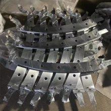 金裕 品质款304不锈钢楼梯扶手 定制加工不锈钢楼梯立柱 幕墙配件厂家