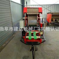 玉米青贮打捆包膜机价格 青储打捆包膜机操作原理