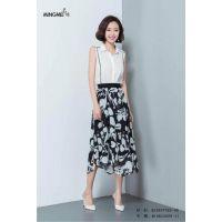 上海新款时尚夏装 18新款名妹折扣货源