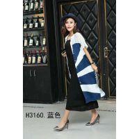 四季太阳花品牌折扣女装宽松大码连衣裙分份走份批发实体店一手货源就在杭州惠之良品