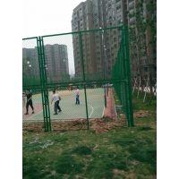 盘龙城体育场围栏网 双层勾花网围栏 橄榄城篮球场围栏网在黄陂博达围网厂家购买