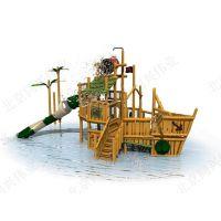 北京同兴伟业厂家专业生产儿童组合爬网、室外爬网滑梯、t形爬网独木桥