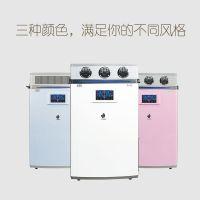 柜式芙睿希商用XY-G2000新风系统 液态水负氧离子空气净换热制冷机