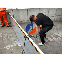 居民小区防汛专用挡水板、铝合金防淹挡板厂家