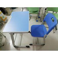 单人双人金属升降课桌椅