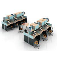 朗哥家具 职员桌 办公卡位 屏风办公桌 办公家具厂家直销42
